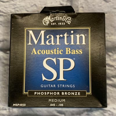 Martin SP Acoustic Bass Phosphor Bronze Medium 45-105 Bass Strings