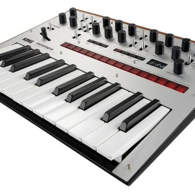 KORG MONOLOGUE * SILVER New Analog Synthesizer Keyboard midi VINTAGE SYNTH DEALE