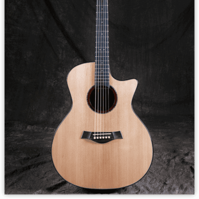 Hsienmo Cloud GA Quarter Sawn Solid Stika Spruce Top and Quilted Mahogany Back&Sides with hardcase for sale