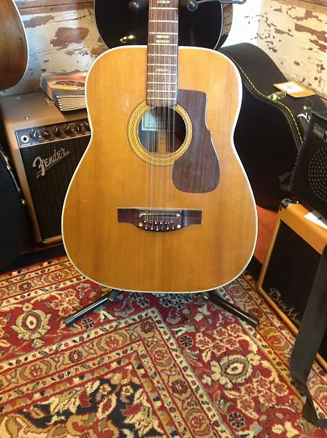 Ventura 12 String V 16 60s Natural Woriginal Hardshell Reverb