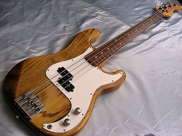 1980s precision bass with fender neck reverb. Black Bedroom Furniture Sets. Home Design Ideas
