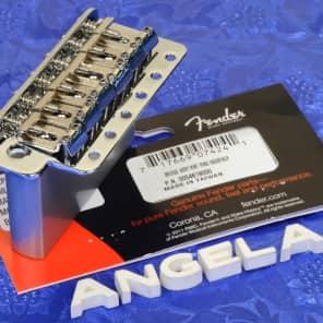 Genuine Fender Mexico Stratocaster '60s-'70s Vintage Style  Tremolo Bridge 0054619000