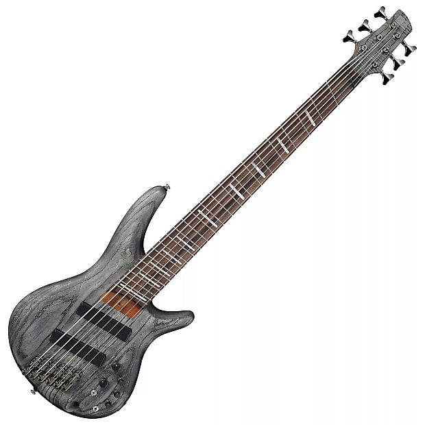 Ibanez SRFF806BKS Electric Bass Black Stained