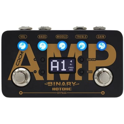 Hotone Binary Amp Amp Simulation Effects Pedal for sale