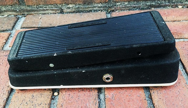 Vintage Jen Cry Baby Wah Pedal Made In Italy Not Super