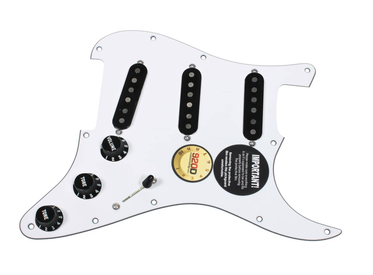 920d custom loaded strat stratocaster pickguard fender