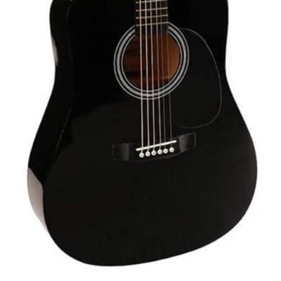 Nashville gsd20bk chitarra acustica dreadnought nera for sale
