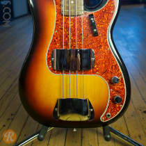 Fender '62 Reissue Precision Bass 1983 Sunburst image