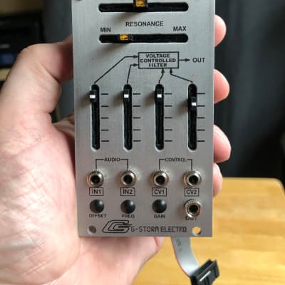 G-Storm Electro Tonus VCF 2020 Silver Arp 2600 filter clone