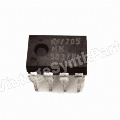 2 X IC MM5837 MM5837N Chip Digital Noise Source Vintage Synth Korg Moog Roland