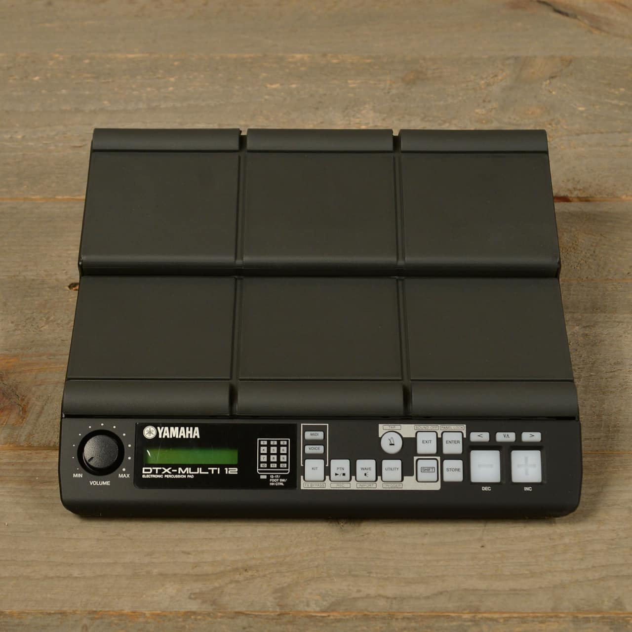 Yamaha dtx multi 12 electronic percussion multi pad mint for Yamaha dtx review