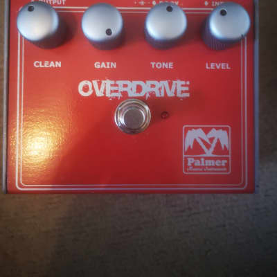 Palmer Overdrive 1990 Red for sale