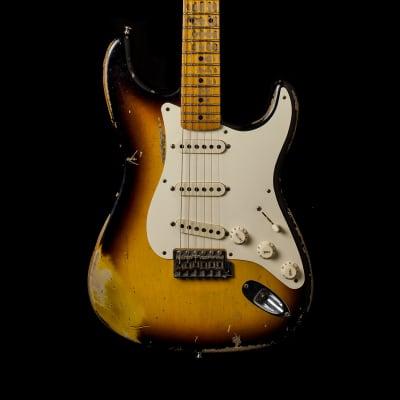 Fender Stratocaster '57 Relic 2-Tone Sunburst 2010 for sale
