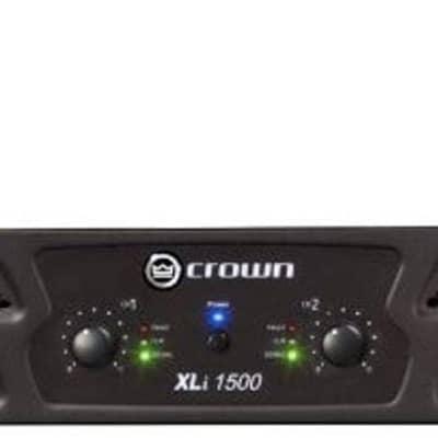 Crown XLi1500 Two-channel, 450-Watt at 4Ω Power Amplifier for sale
