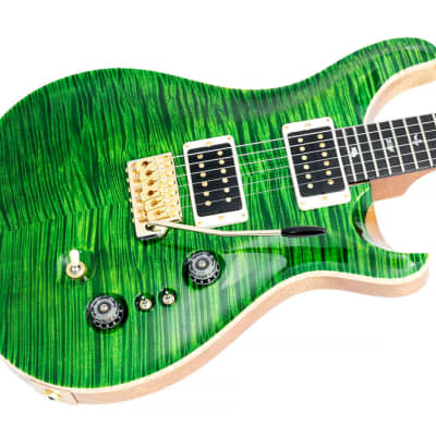Paul Reed Smith 35th Anniversary Custom 24 Emerald Green Artist Grade Flame for sale
