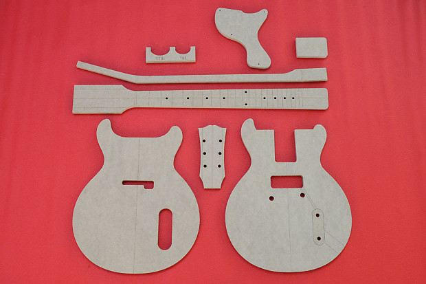 Gibson Les Paul Junior Double Cut Set 1958-59-60-61 Jr CNC | Reverb