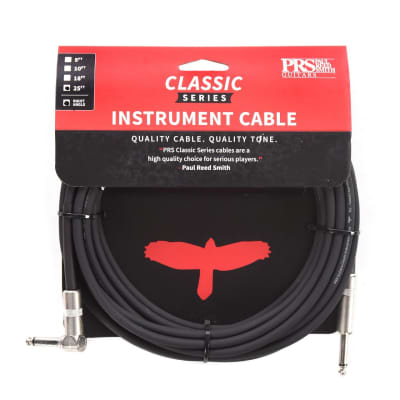PRS 25' Classic Instrument Cable Straight/Angle