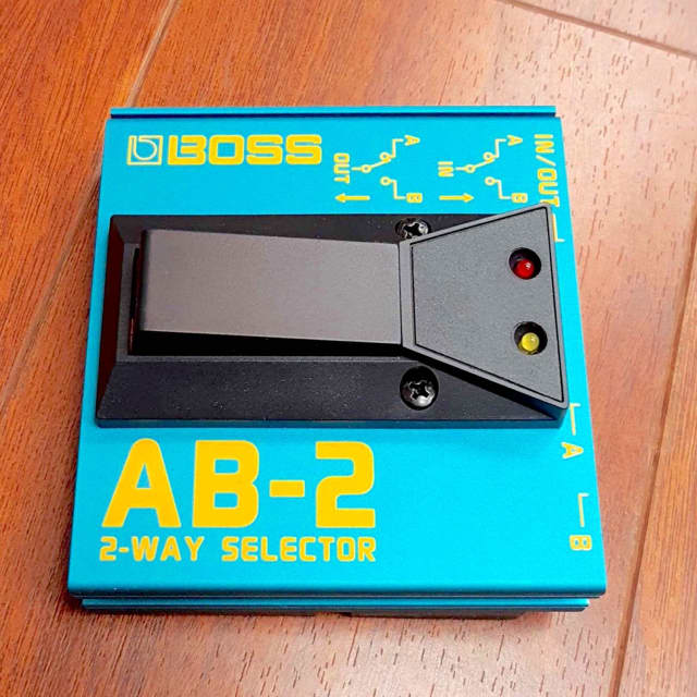 Boss AB-2 2-Way Selector Foot Switch (Exc.) image