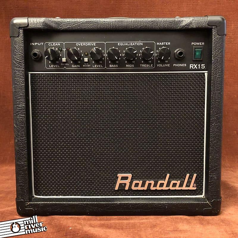 Randall RX15 12W 1x6.5