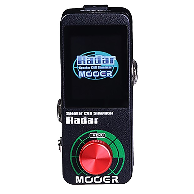 mooer radar speaker microphone power amp cab simulator guitar reverb. Black Bedroom Furniture Sets. Home Design Ideas