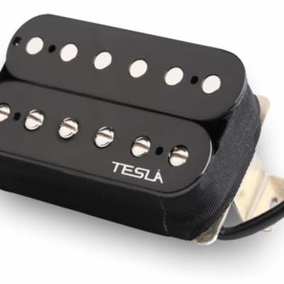 Tesla VR3 Humbucker Guitar Pickup - Bridge / Black