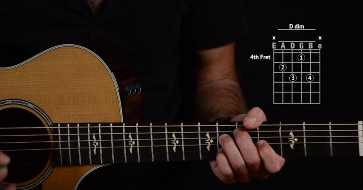 Learn To Play Diminished Chords Reverb News