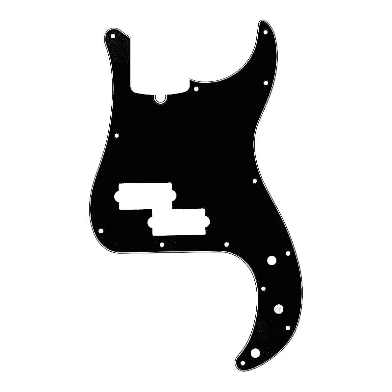099-1352-000 Bass NEW Fender Pickguard For Standard P BLACK