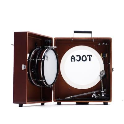 Toca Kickboxx Suitcase Drum Set With Kickboxx