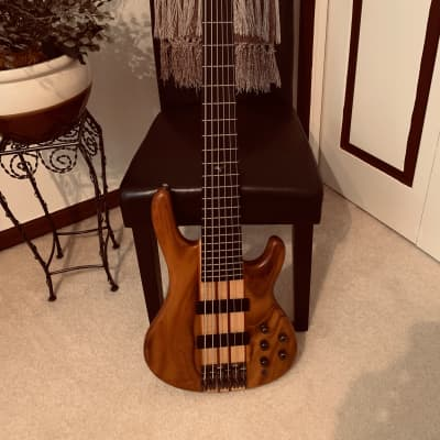 Raven West RB6500 Natural 6 String Bass for sale