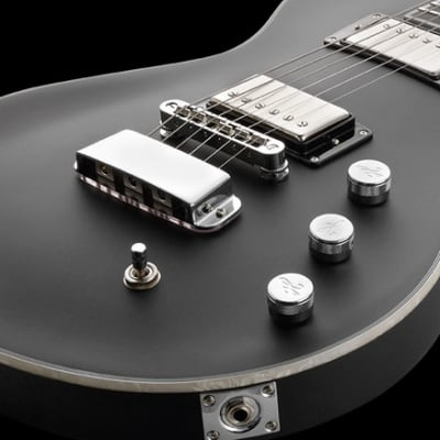Hagstrom ULMAX-SBK | Ultramax Electric Guitar, Satin Black Finish. New with Full Warranty!