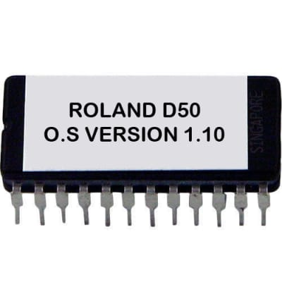 ROLAND D-50 OS FIRMWARE UPDATE UPGRADE 1.10 ( old version ) D50 Eprom