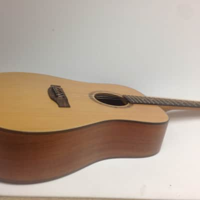 Martin Klema Dreadnought Style Acoustic Guitar W Bag,picks,string K100DC for sale