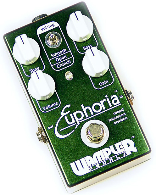 wampler pedals euphoria overdrive macdaddy music reverb. Black Bedroom Furniture Sets. Home Design Ideas