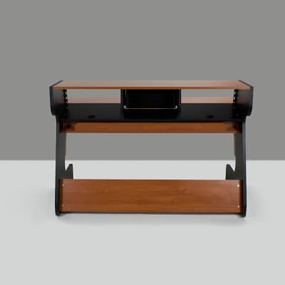 New Zaor MIZA 88 Black Cherry MZ-88-BK.CHE Modern Studio Furniture Desk for Console & Recording