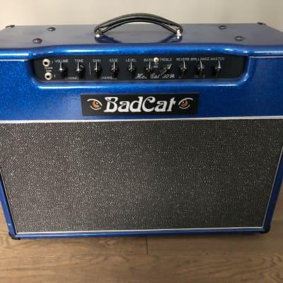 2004 Bad Cat Hot Cat 30R 2x12 Combo Blue Sparkle