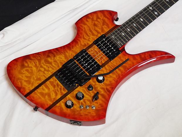 bc rich mockingbird st electric guitar honey burst w case reverb. Black Bedroom Furniture Sets. Home Design Ideas