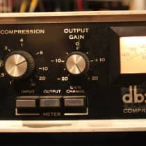 DBX 160 Compressor / Limiter 1970s Black image