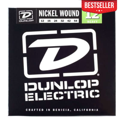 Dunlop DEN1254 Nickel-Plated Steel Medium .012-.54 Electric Guitar Strings