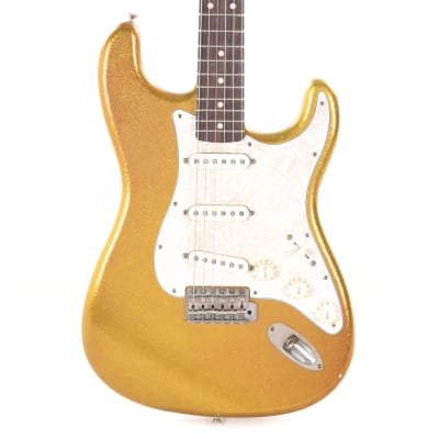 Nash S-63 Gold Sparkle Light Relic Alder w/Lollar Pickups & 3-Ply Pearl Pickguard (Serial #NG4968)