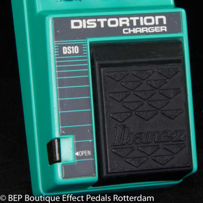 Ibanez DS10 Distortion Charger s/n 7X02431 mid 80's with JRC4558D op amp