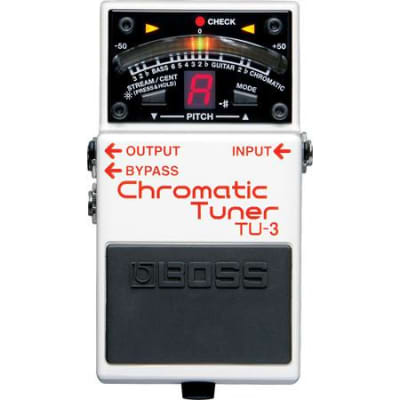 Boss TU3 Chromatic Pedal Tuner for sale