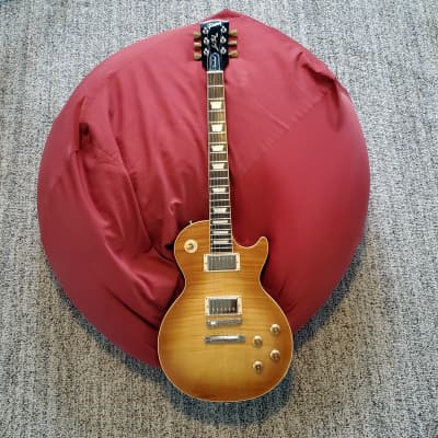 2018 Gibson Les Paul Traditional in Flamed Honey Burst
