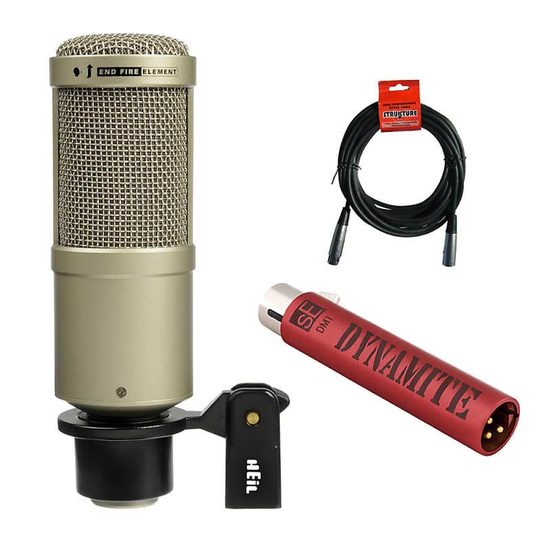 heil sound pr 40 dynamic cardioid studio microphone reverb. Black Bedroom Furniture Sets. Home Design Ideas