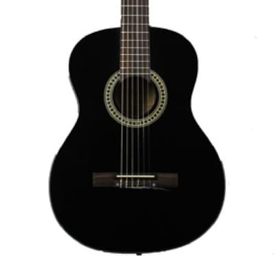 Tanara Classical Full-Sized Black Guitar TSC100BK for sale