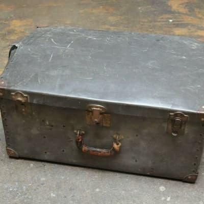Fiber  Drum Hardware Case 23x16x10 Vintage