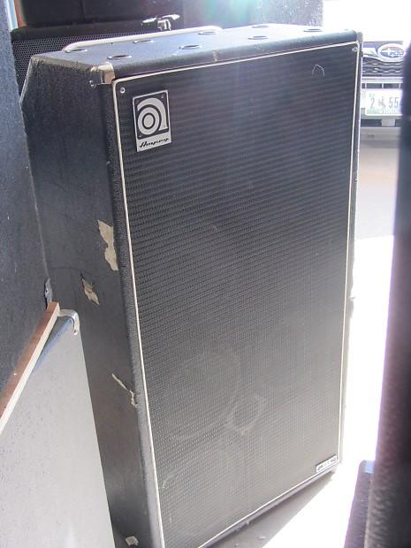 ampeg svt 810pro 8x10 bass cabinet r r vintage guitars reverb. Black Bedroom Furniture Sets. Home Design Ideas