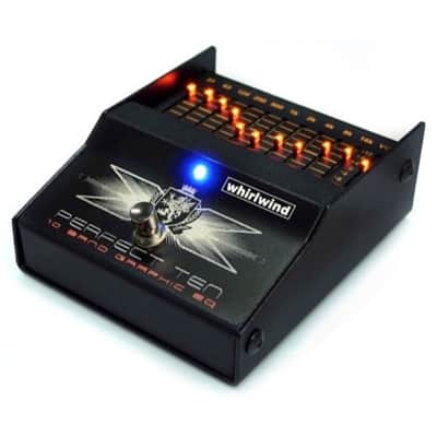Whirlwind FXEQBP Perfect Ten Graphic EQ Bass Pedal for sale