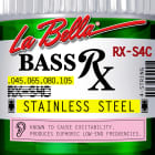 La Bella Bass Strings Rx Stainless Steel 4-String RX-S4C .045-.105 image