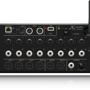 Refurbished - BEHRINGER X AIR XR16 16-Input Digital Mixer for iPad/Android WiFi MIDAS Pre + Warranty