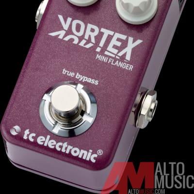 TC Electronics Vortex Mini Flanger Pedal with Toneprint